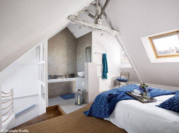 Une maison typique au bord de la mer... on en rêve!
