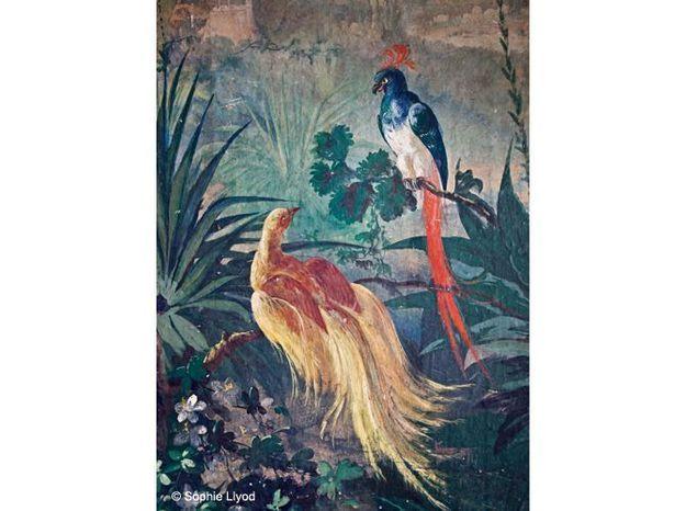 Papier peint villa casamaur
