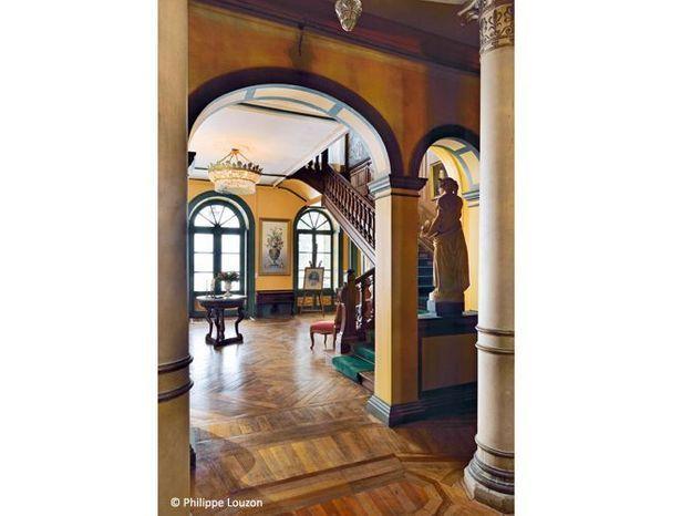 Vestibule entree chateau