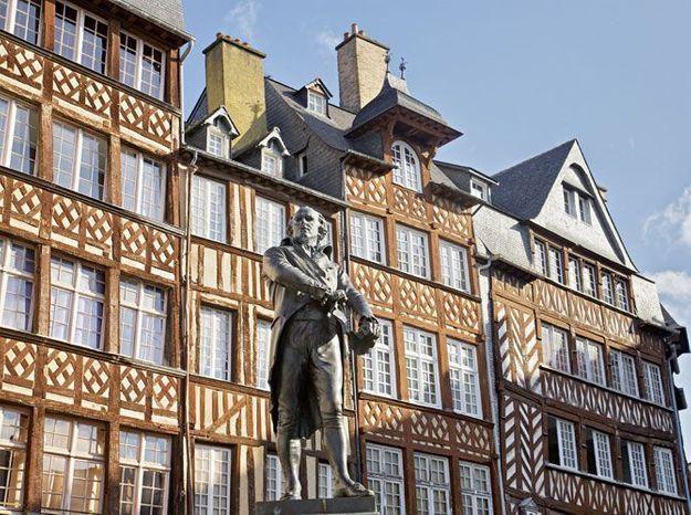 Visite guidée à Rennes