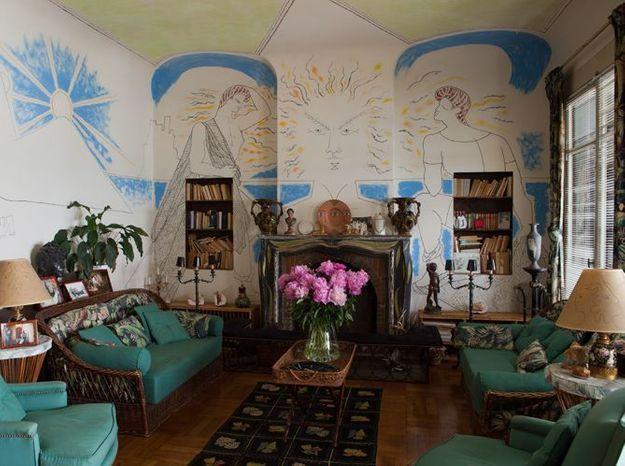 Visitez la maison de Jean Cocteau