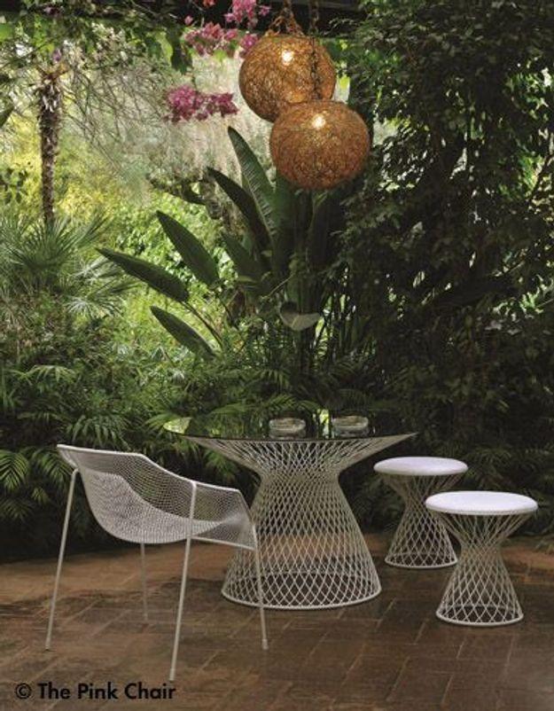 Table Basse pouf De Jardin Heaven Emu Credit The Pink Chair