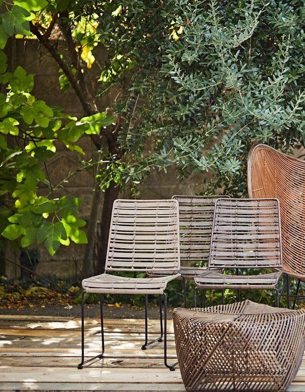 Une chaise de balcon Côté Table