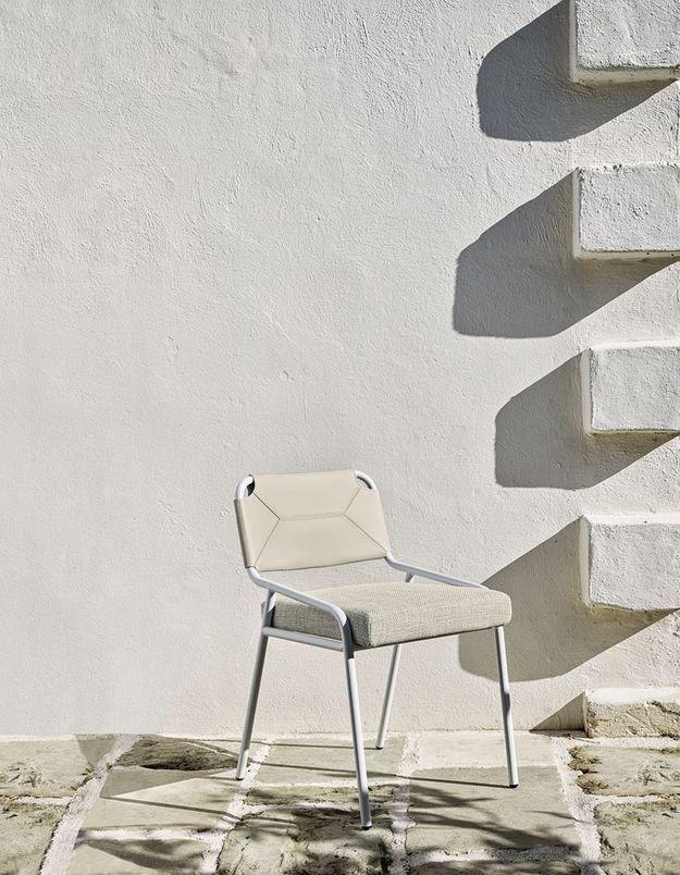 Une chaise de balcon Meridiani