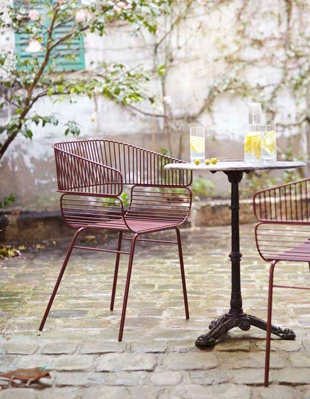 Une chaise de balcon Petite Friture