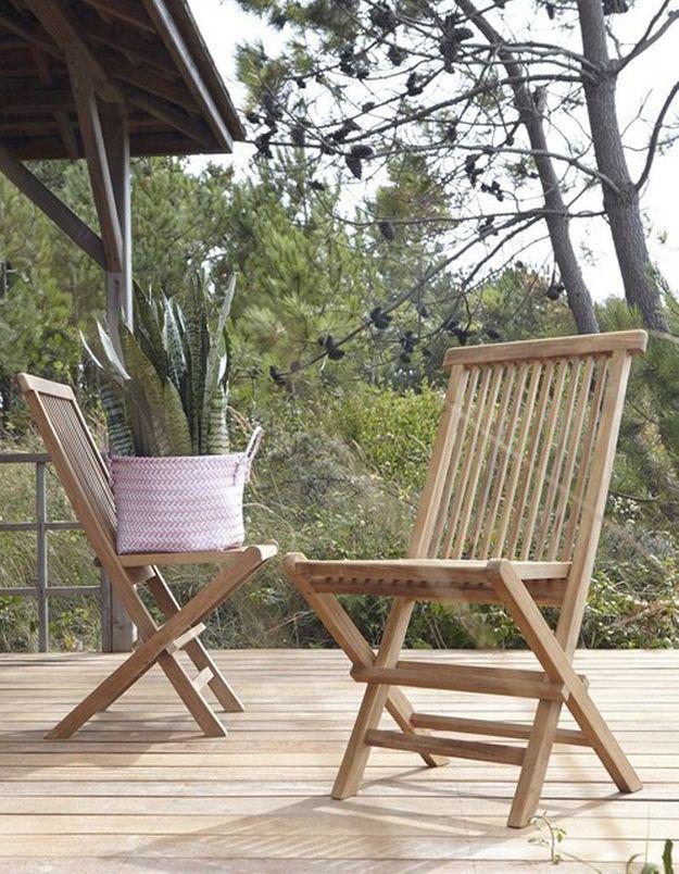 Une chaise de balcon Tikamoon