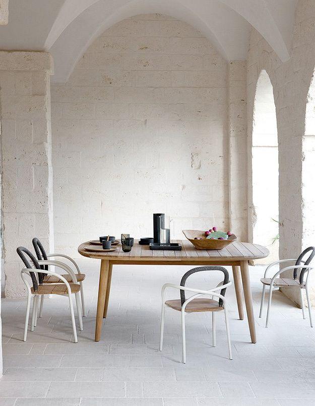 Table extensible et chaise Les Arcs, Unopiù