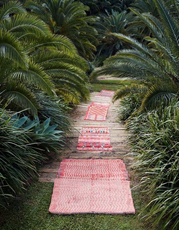Parier sur le tapis outdoor