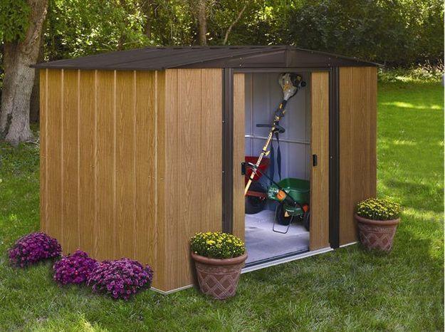 Un mini cabane de jardin