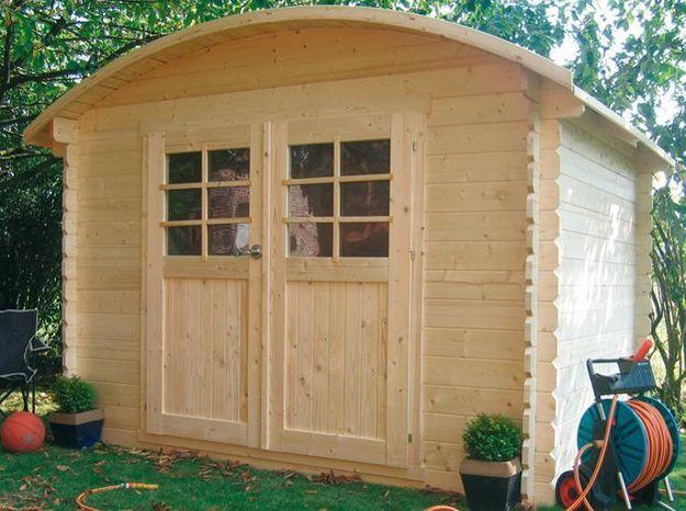 Une cabane de jardin pour un coin bricolage