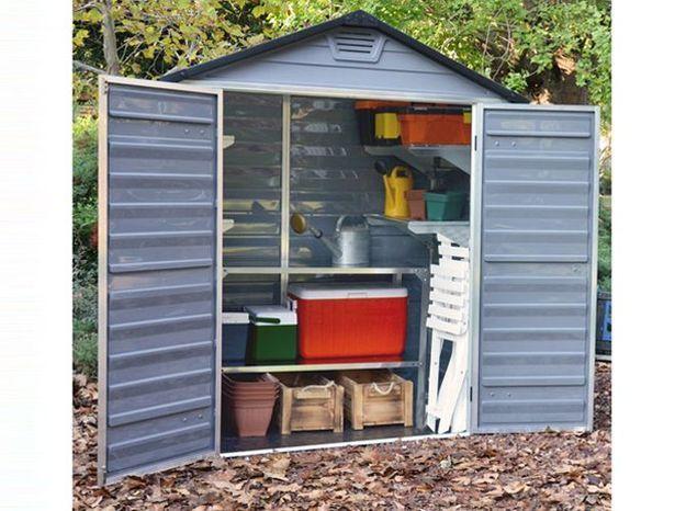 Une mini cabane de jardin