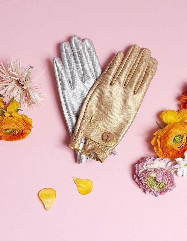 Des gants de jardinage de star