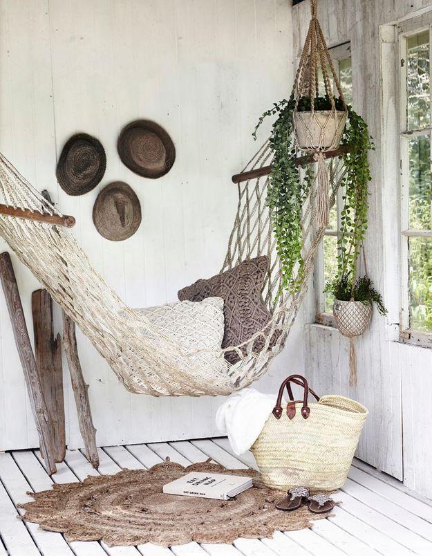 Succombez au hamac pour un espace 100% détente dans le jardin