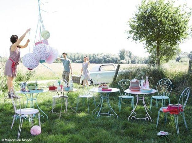 Nos Astuces Deco Pour Un Jardin En Fete Elle Decoration