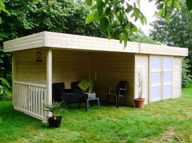 Choisir sa cabane de jardin - Elle Décoration