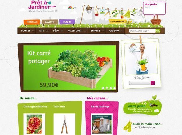 Conseils et produits à portée de clic avec Prêt à jardiner.com