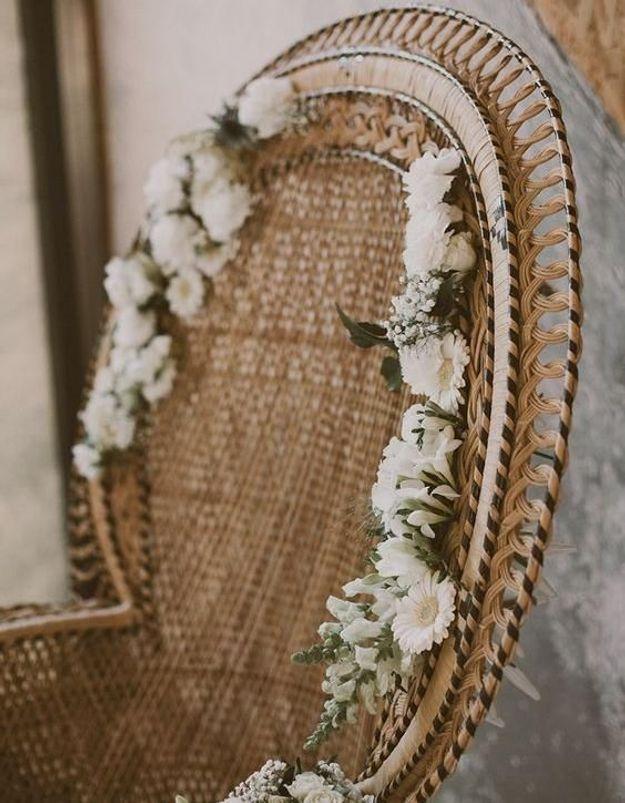 Habiller son fauteuil Emmanuelle de fleurs pour un esprit champêtre