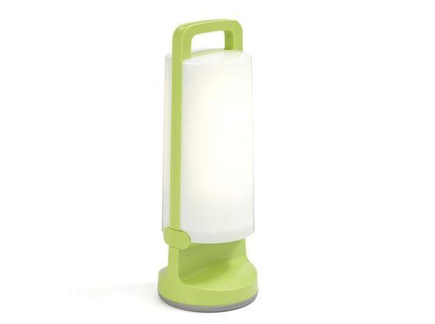 Une lampe flashy pour éclairer ma terrasse