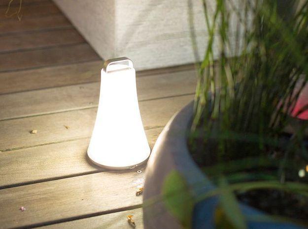Une lampe XXS pour éclairer ma terrasse
