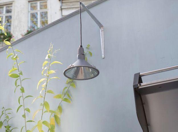 Une suspension contemporaine pour éclairer ma terrasse