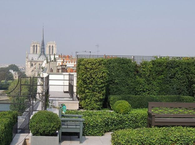 Amenagement photo terrasse paris
