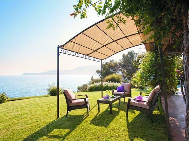 20 pergolas pour se prot ger du soleil elle d coration. Black Bedroom Furniture Sets. Home Design Ideas