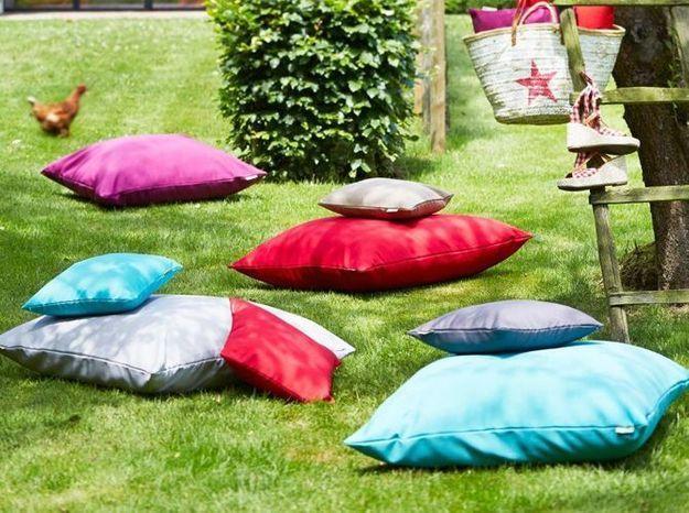 Des coussins de sol