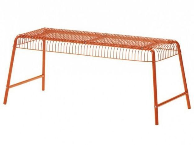 Banc pas cher orange