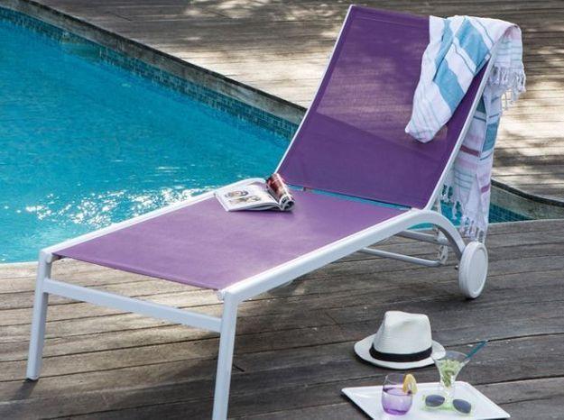Meubles de jardin craquez pour notre s lection color e - Chaise de jardin coloree ...