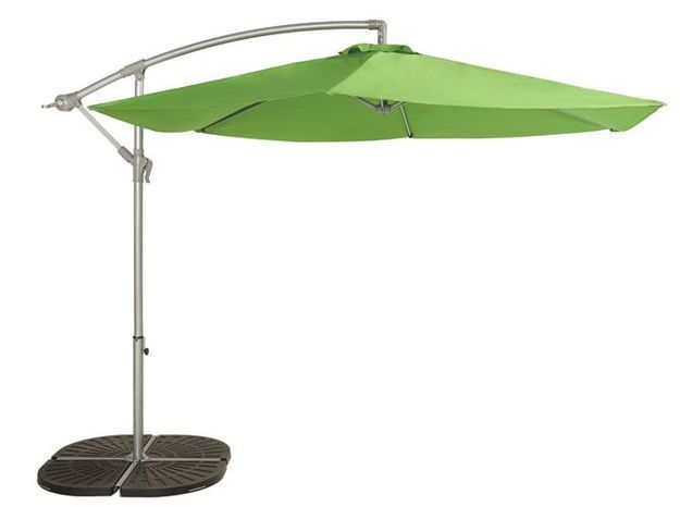 Parasol deporte vert castorama