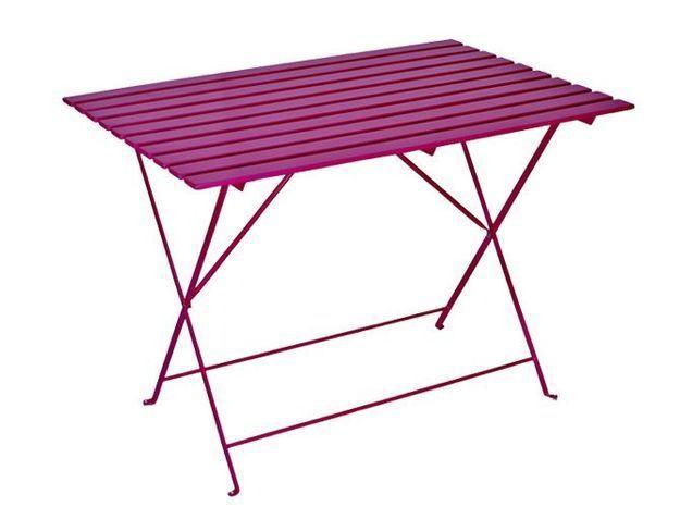 Table jardin violet habitat