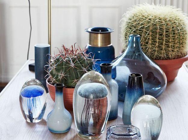 Un cactus associé à de jolis pots