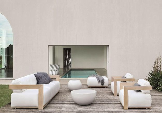 Salon de jardin design Meridiani