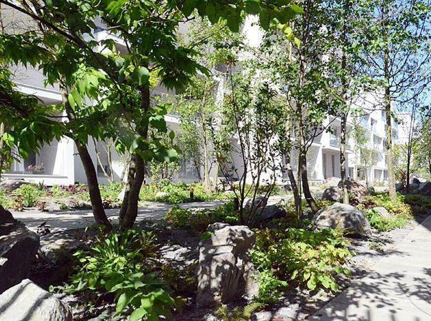 Jardins de logements Massy