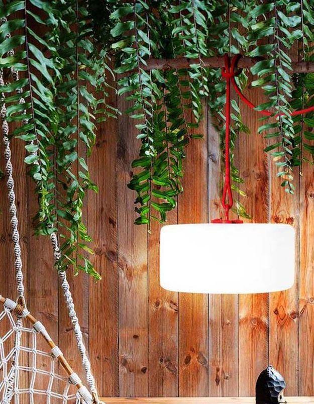 Une lampe de jardin Fatboy