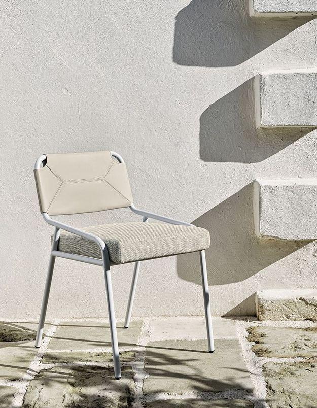 Chaise de jardin Meridiani