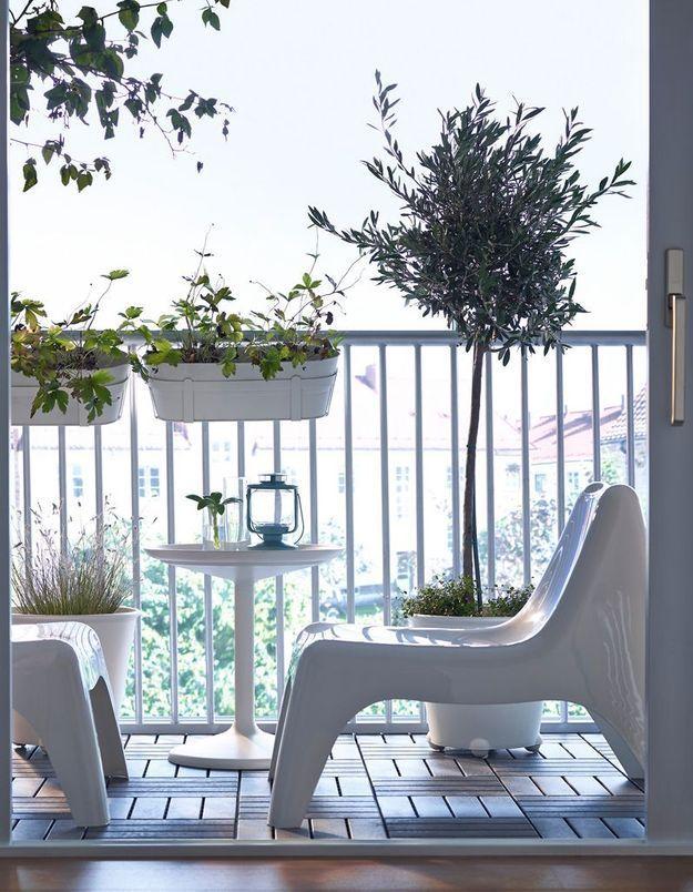 Fauteuil de jardin IKEA