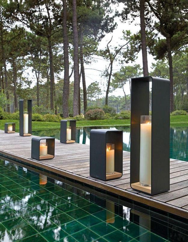 Un accessoire de piscine Manutti
