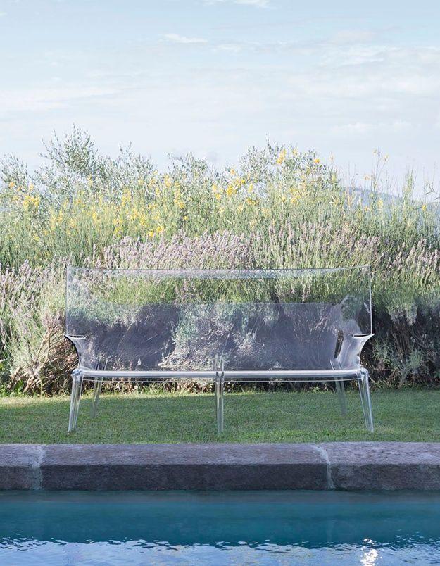 Canapé de jardin Kartell