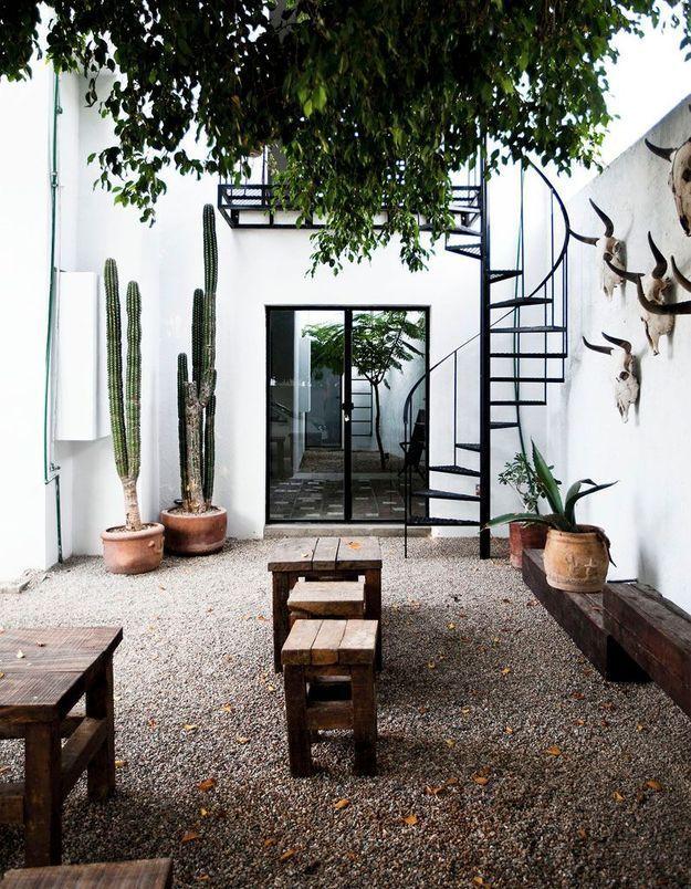 des solutions canons pour am nager son patio elle d coration. Black Bedroom Furniture Sets. Home Design Ideas