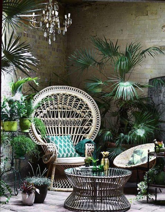 Accumuler des plantes de toutes les tailles pour un style jungle urbaine dépaysant