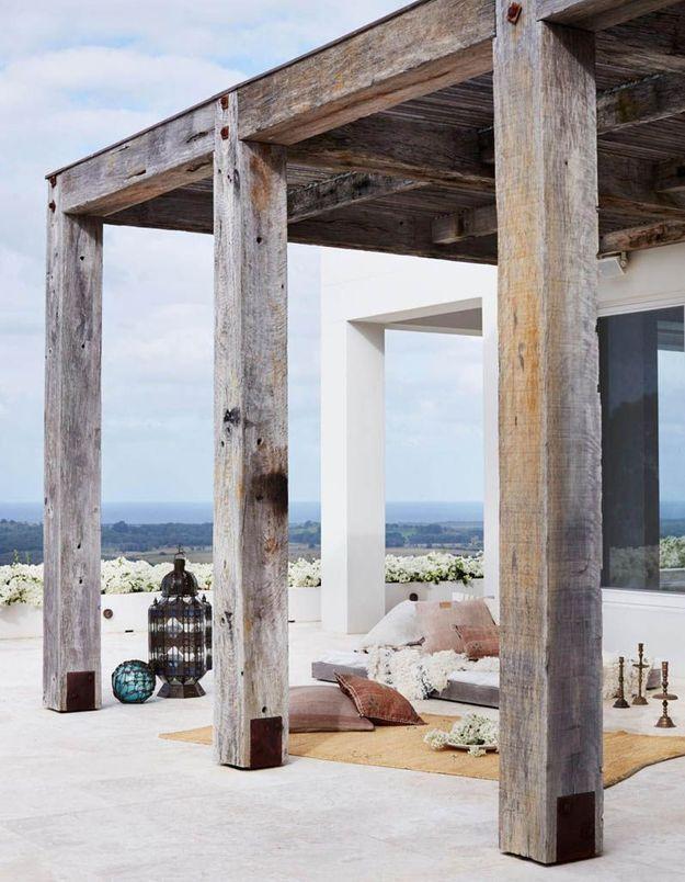 Une terrasse zen car nomade