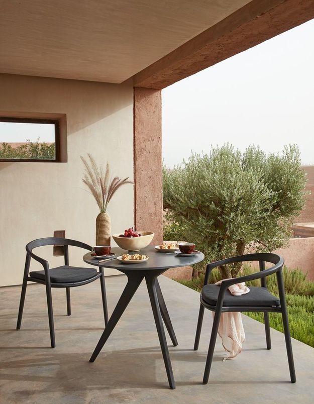 Une terrasse zen très contemporaine