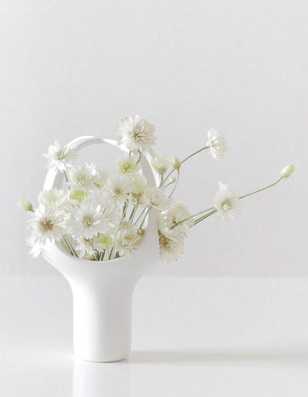 Vase esprit Ikebana