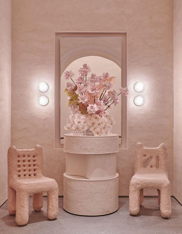 Le mobilier en plâtre