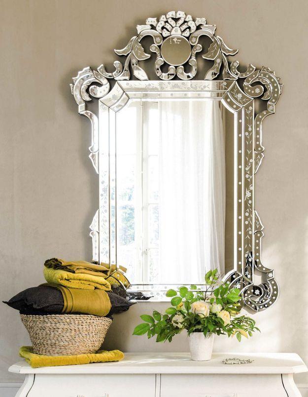 Apporter une touche baroque avec le miroir vénitien