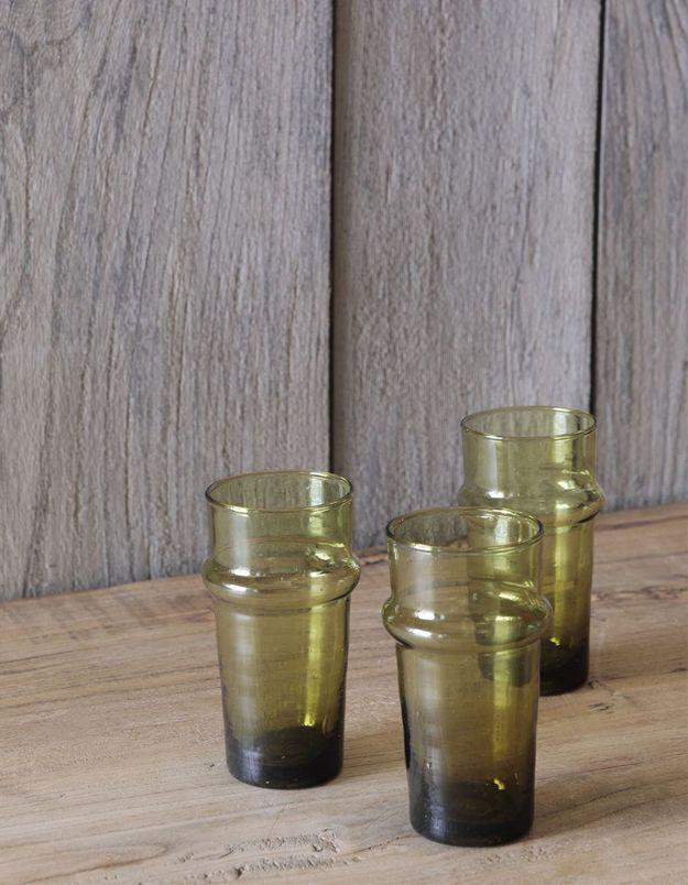 Des verres « Beldi » Démodé comme cadeau de Noël déco