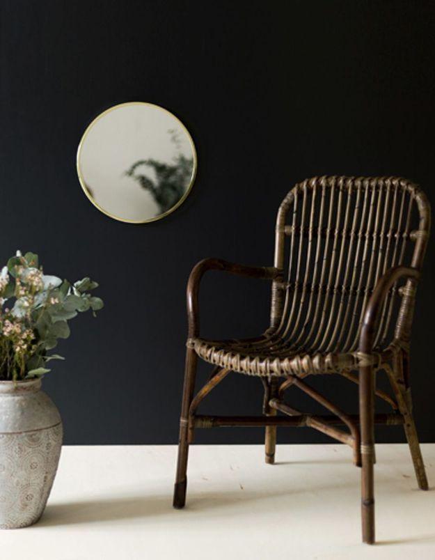 Un fauteuil en rotin Moka comme cadeau de Noël déco