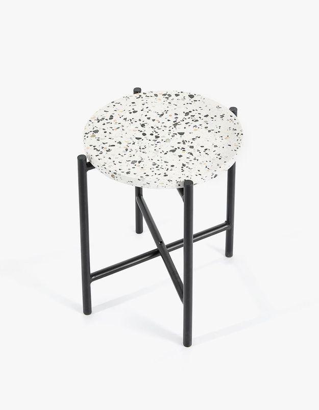 Une table d'appoint Zara Home comme cadeau de Noël déco