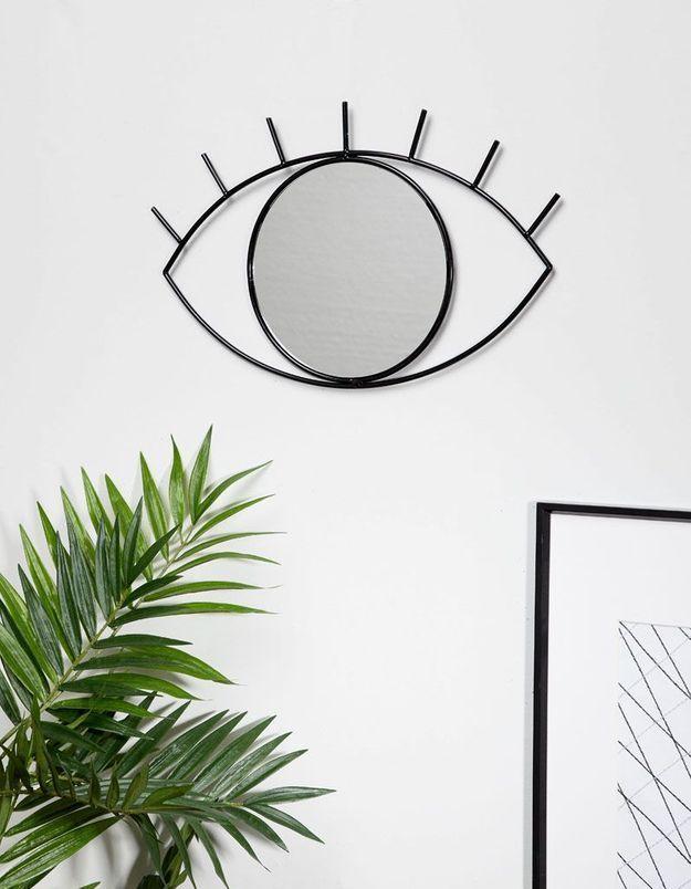 Un miroir oeil